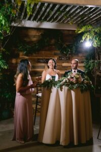 standard wedding reception